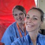 Photo of IMR nurse volunteers